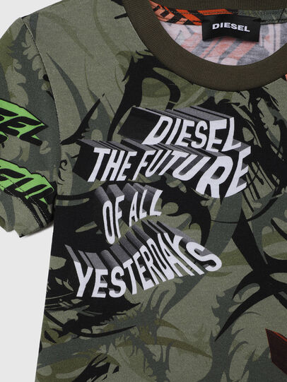 Diesel - TESEOB-R, Military Green - T-shirts and Tops - Image 3