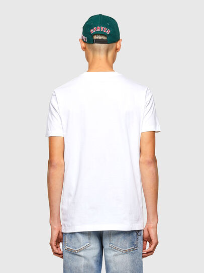 Diesel - CL-T-DIEGOS-O2, White - T-Shirts - Image 3