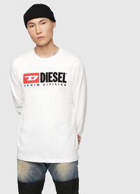 T-JUST-LS-DIVISION, White