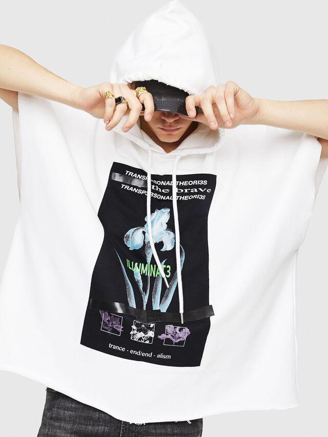 Diesel - S-MAKIKO, White/Black - Sweaters - Image 4