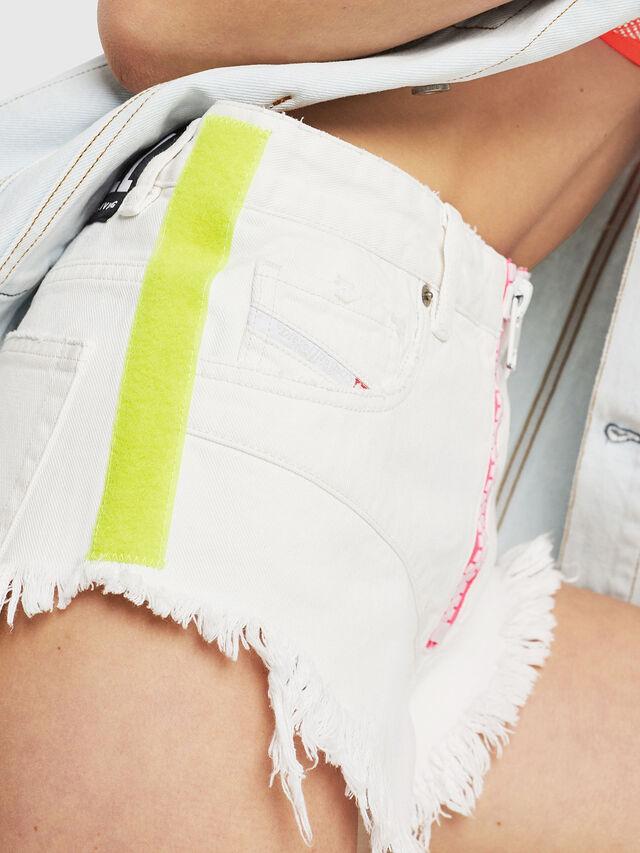 Diesel - DE-CHERYL, White - Shorts - Image 3