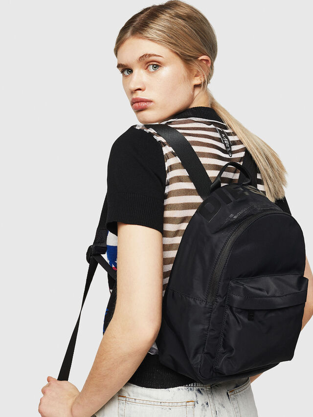 Diesel - F-SUSE BACK, Black/Yellow - Backpacks - Image 5