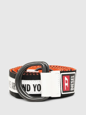 B-RETA, Black/White - Belts