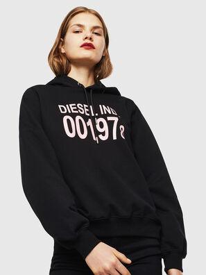 F-ANG-HOOD-J1, Black - Sweaters