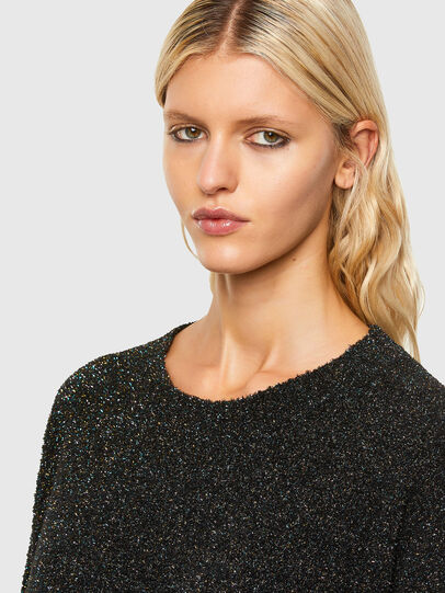 Diesel - M-AGATE, Black - Knitwear - Image 3