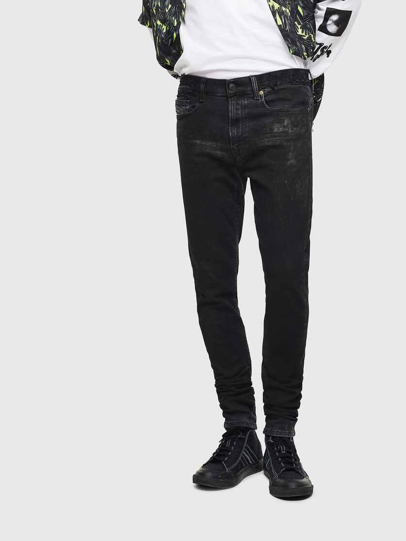 Skinny Black Dark Grey Jeans