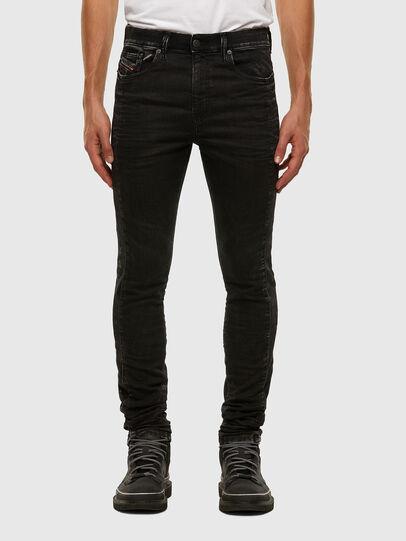 Diesel - D-Reeft JoggJeans 009FY, Black/Dark grey - Jeans - Image 1