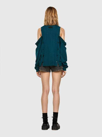 Diesel - M-MIRANDA, Water Green - Knitwear - Image 7