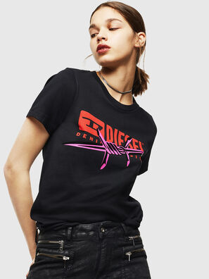 T-SILY-ZC, Black - T-Shirts
