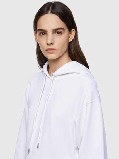 Diesel - F-LYM-HOOD-C.C, White - Sweaters - Image 3