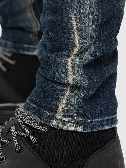 Diesel - Sleenker 069NI, Dark Blue - Jeans - Image 6