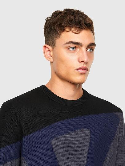 Diesel - K-ZACK, Grey - Knitwear - Image 3