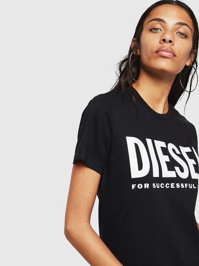 Diesel - T-SILY-WX, Black - T-Shirts - Image 3