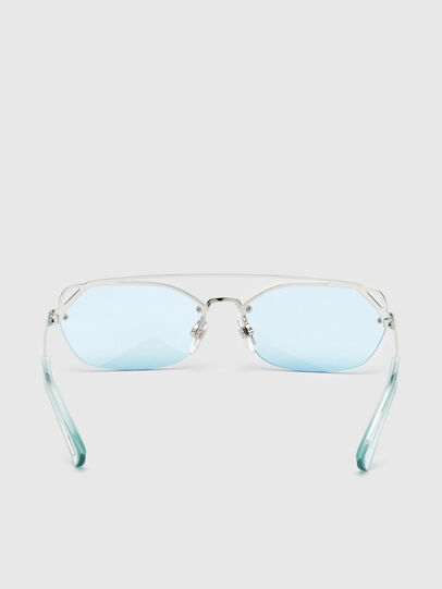 Diesel - DL0313, White/Red - Sunglasses - Image 4