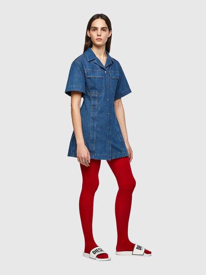 Diesel - DE-AMABEL-SP, Medium blue - Dresses - Image 4