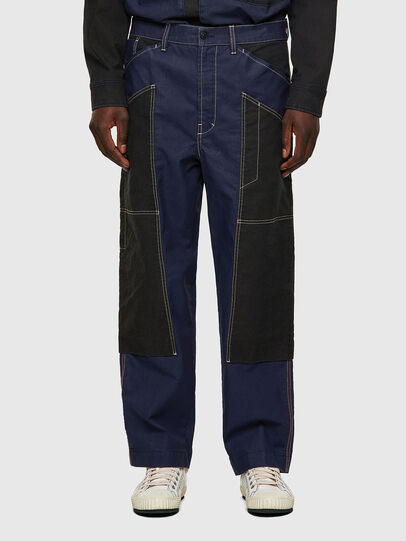 Diesel - D-Franky JoggJeans® 0EEAW, Dark Blue - Jeans - Image 1