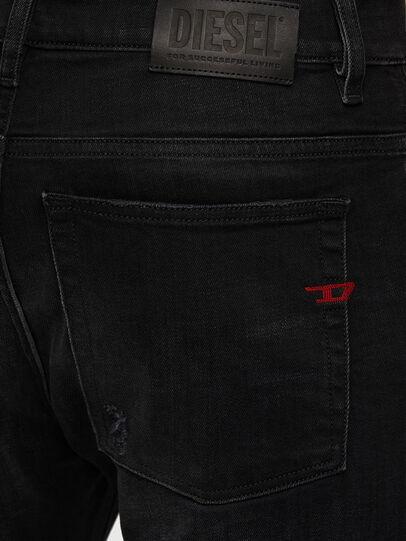 Diesel - D-Amny 0092B, Black/Dark grey - Jeans - Image 4