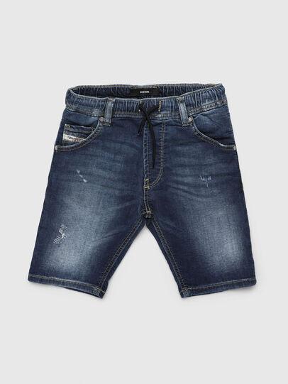 Diesel - KROOLEY-JOGGJEANS-J SH, Medium blue - Shorts - Image 1