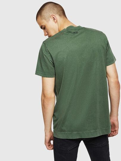 Diesel - T-THEA, Dark Green - T-Shirts - Image 2