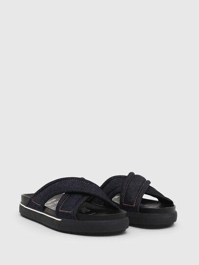 Diesel - SA-GRAND X, Blue Jeans - Sandals - Image 2