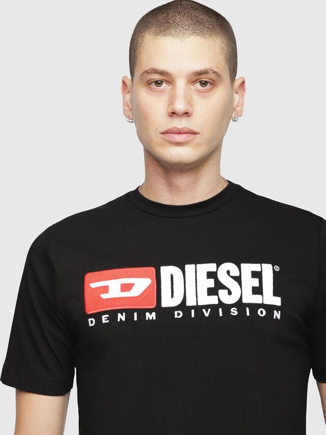Diesel - T-JUST-DIVISION, Black - T-Shirts - Image 3