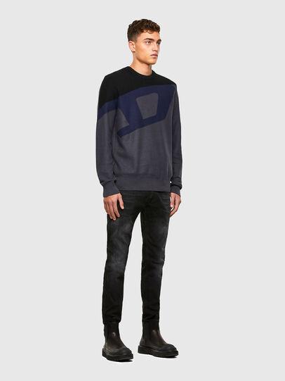 Diesel - K-ZACK, Grey - Knitwear - Image 4