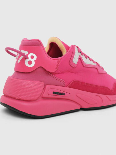 Diesel - S-SERENDIPITY LC W, Pink Fluo - Sneakers - Image 4