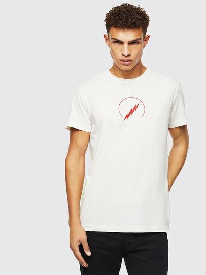 Diesel - T-DIEGO-J5, White - T-Shirts - Image 1