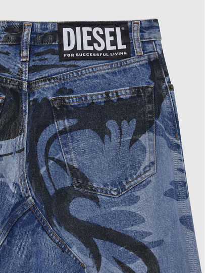 Diesel - DE-SPIZ, Light Blue - Skirts - Image 4