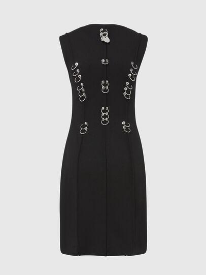 Diesel - D-PHILO, Black - Dresses - Image 2