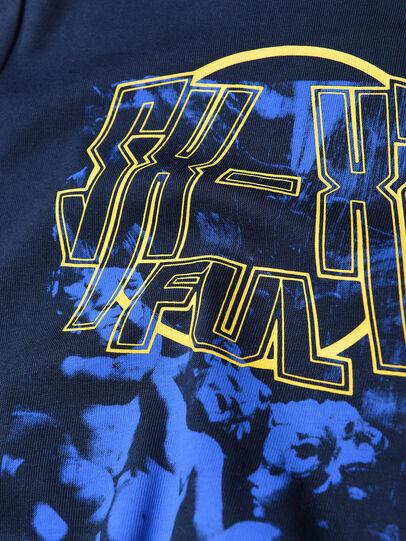 Diesel - TRAVEB, Dark Blue - T-shirts and Tops - Image 3