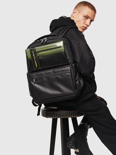 "Diesel - ""KB1*19002 - OPENROA, Black/Green - Backpacks - Image 8"