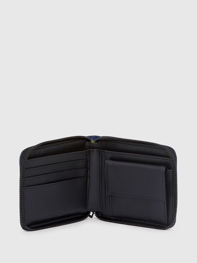 Diesel - ZIPPY HIRESH S, Blue - Zip-Round Wallets - Image 3