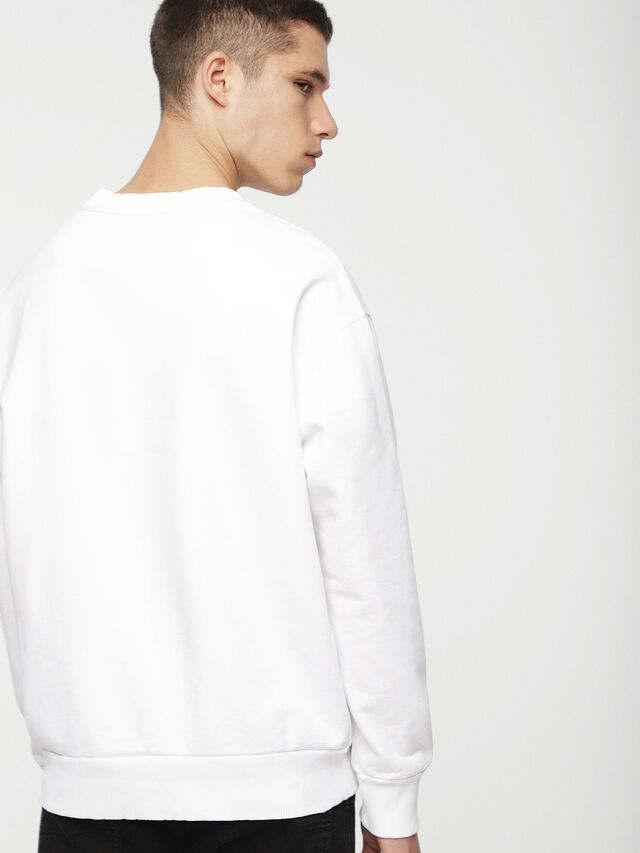 Diesel - DVL-SIFLA-CAPSULE, White - Sweaters - Image 2
