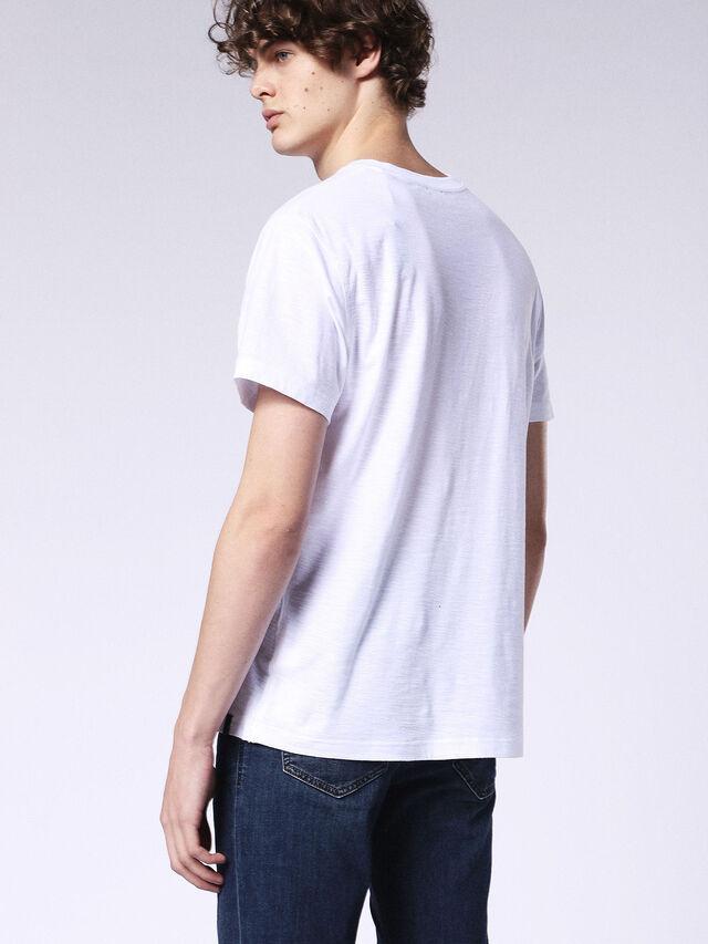 Diesel - T-RENE, White - T-Shirts - Image 2