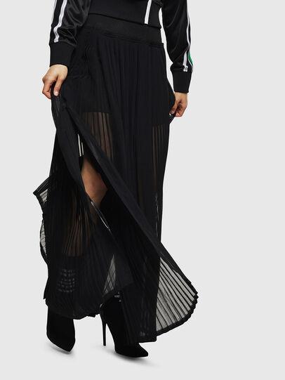 Diesel - O-TERUPE, Black - Skirts - Image 1