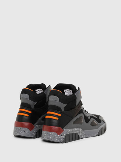 Diesel - S-RUA SP, Dark grey - Sneakers - Image 3