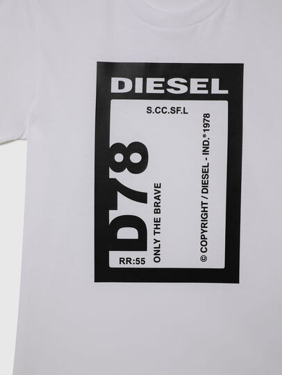 Diesel - TFULL78, White - T-shirts and Tops - Image 3
