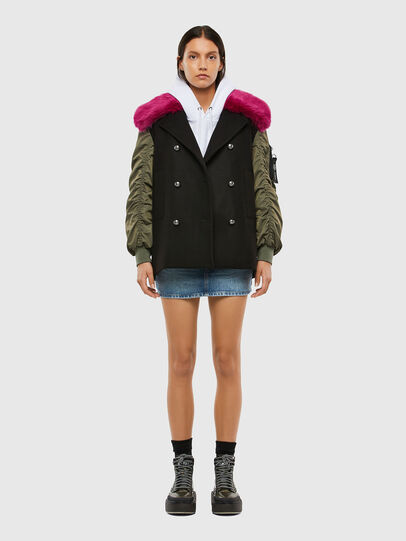 Diesel - W-AVALES, Plum - Winter Jackets - Image 8