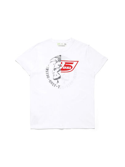 Diesel - D-MESO&MESO, White - T-Shirts - Image 1