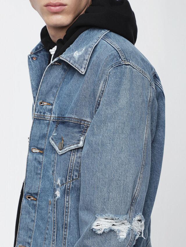 Diesel - D-ROBYN, Blue Jeans - Denim Jackets - Image 3