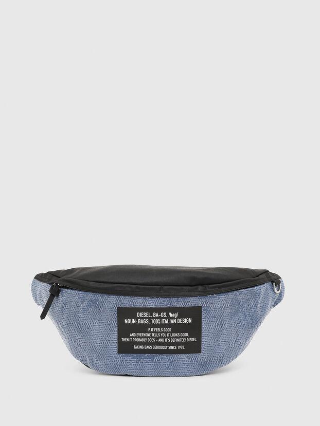 D-THISBAG BELT, Blue/Black - Belt bags