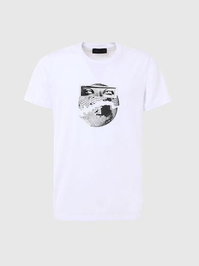 Diesel - T-INO, White - T-Shirts - Image 1