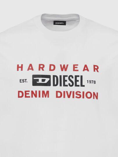 Diesel - T-DIEGOS-K32, White - T-Shirts - Image 3