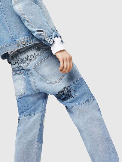 Diesel - D-Kodeck 0078F, Light Blue - Jeans - Image 4
