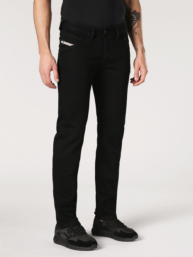 BELTHER 0886Z, Black denim