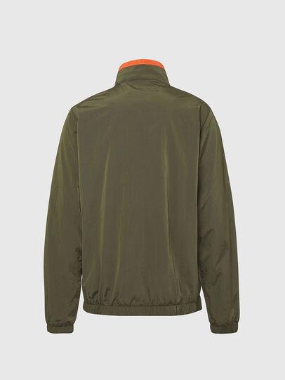 Diesel - UMLT-ROULAY-WZ, Olive Green - Jackets - Image 2