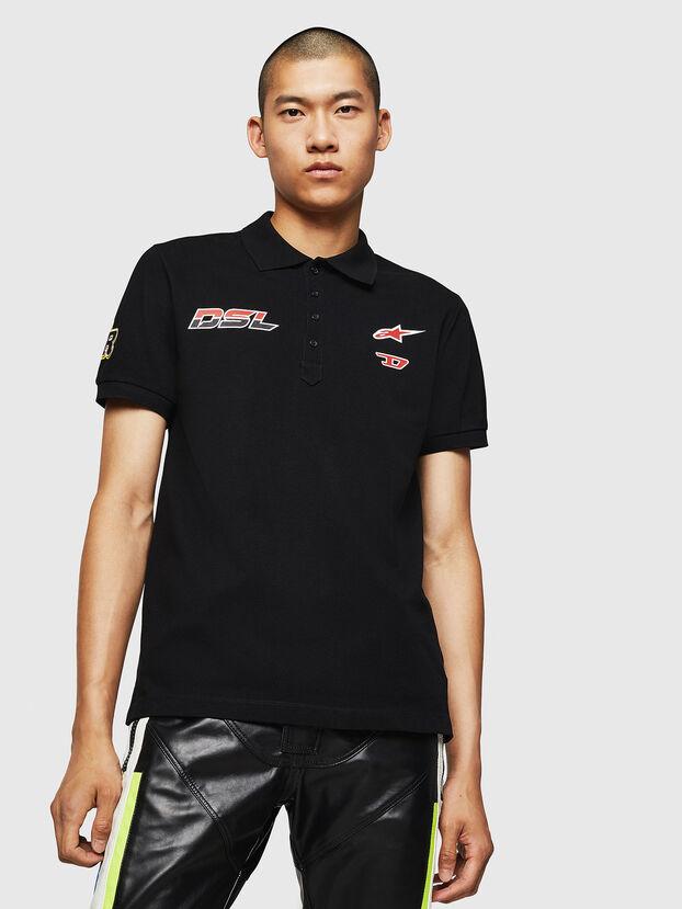 ASTARS-T-NIGHT-NEW, Black - T-Shirts