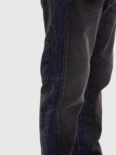 Diesel - D-Slack 009KZ, Black/Dark grey - Jeans - Image 5