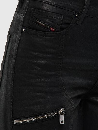Diesel - D-Ollies JoggJeans 069RK, Black/Dark grey - Jeans - Image 5